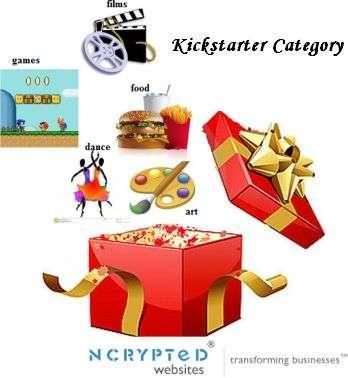 kictstarter categories1