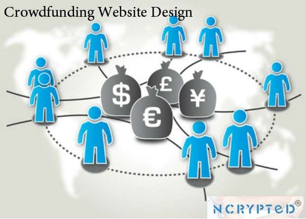 Crowdfunding website design