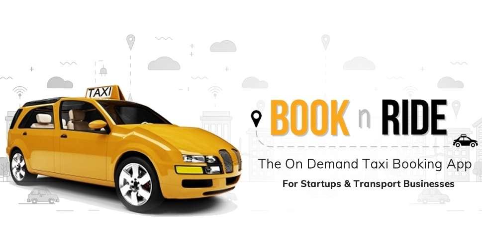 BooknRide - On Demand Taxi Booking App