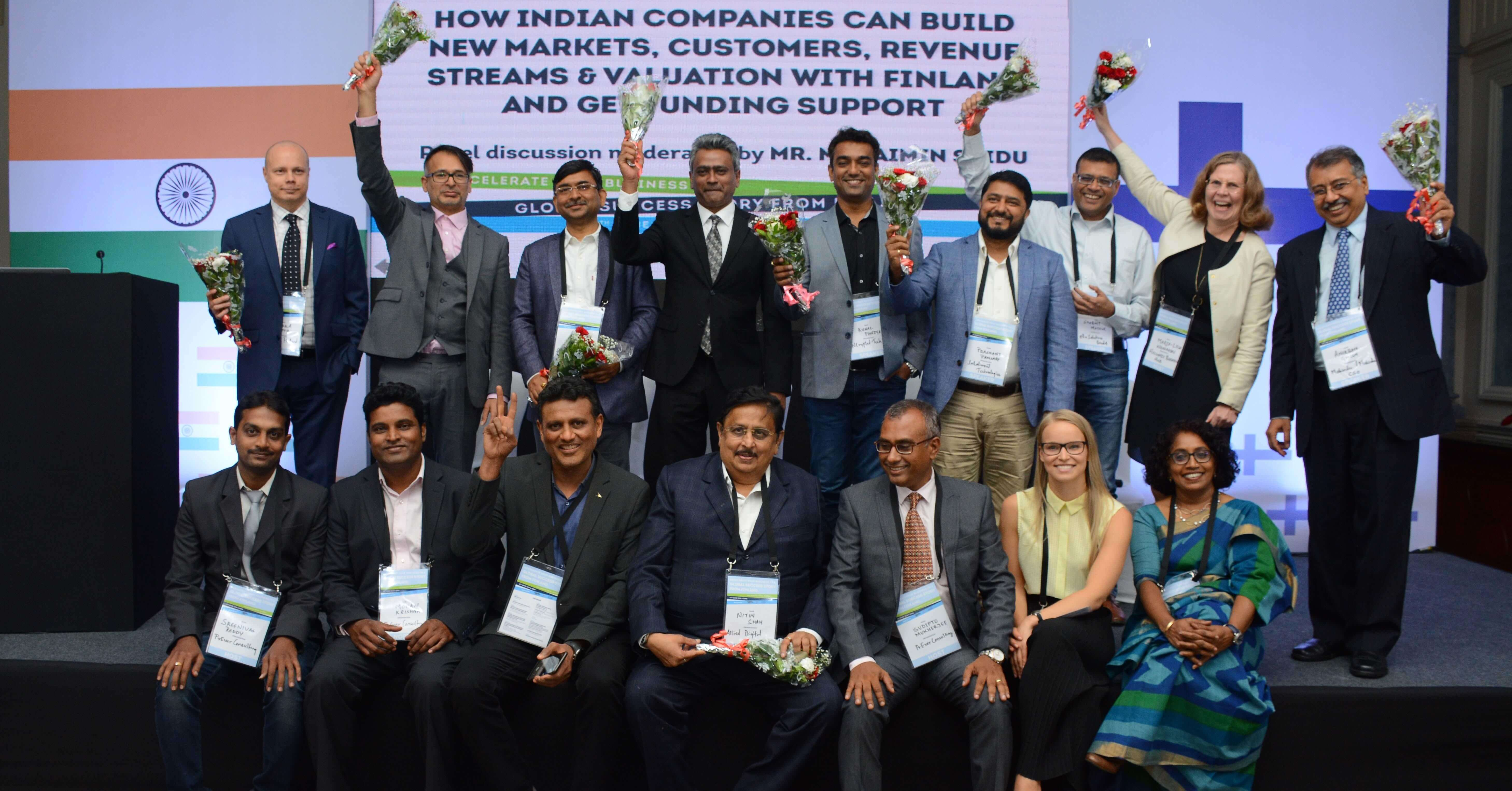 NCrypted at India - Finland Business Collaboration Conference