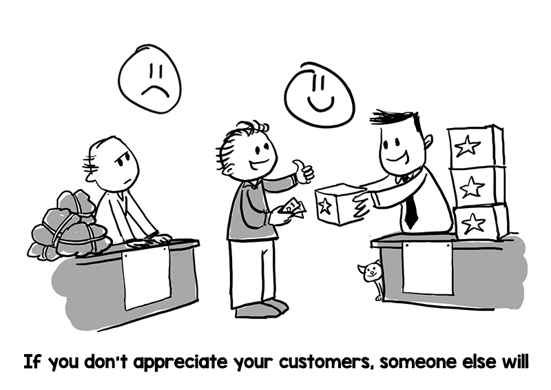 Customer Satisfaction Is a Must