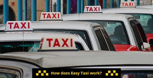 How does Easy Taxi Work?