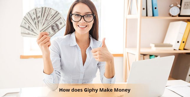 How does Giphy Make Money