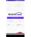 Sharecaar App - landing