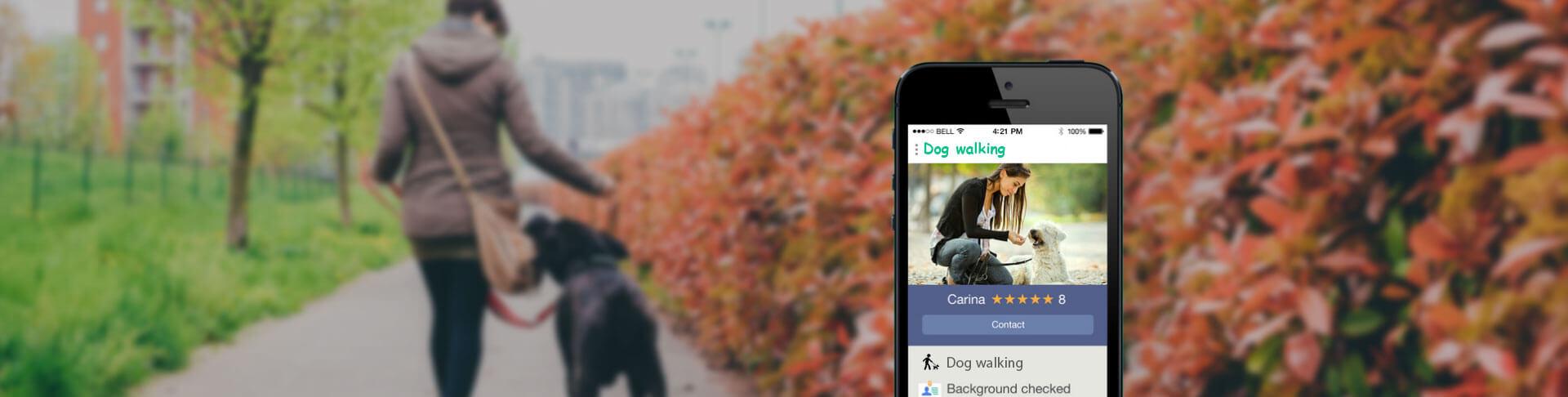 Uber for Dog Walking